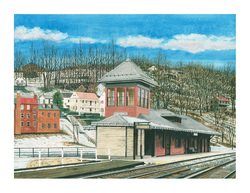 Harpers Ferry painting